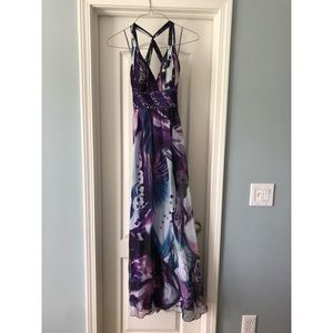 Beautiful, unique long prom dress